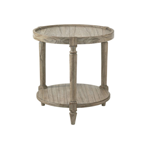 Twilight Bay Gray Phoebe Lamp Table