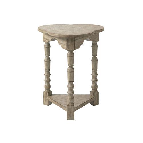Twilight Bay Gray Bailey Chairside Table
