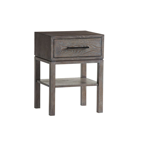 Santana Gray Armiston Night Table