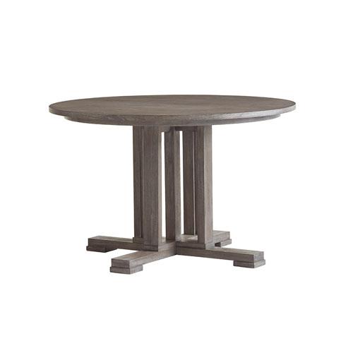 Santana Gray Montrose Round Dining Table