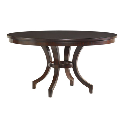 Kensington Place Brown Beverly Glen Round Dining Table