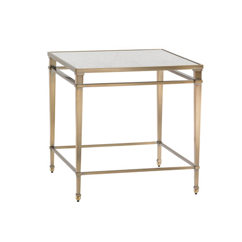 Kensington Place Gold Maxfield Metal Lamp Table