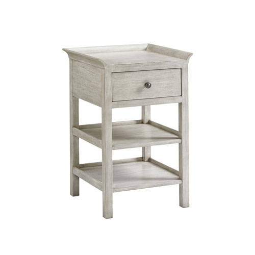 Oyster Bay White Pellham Night Table