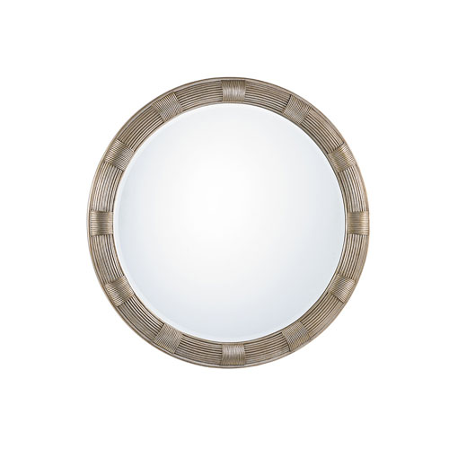 Laurel Canyon Gold Beverly Round Mirror