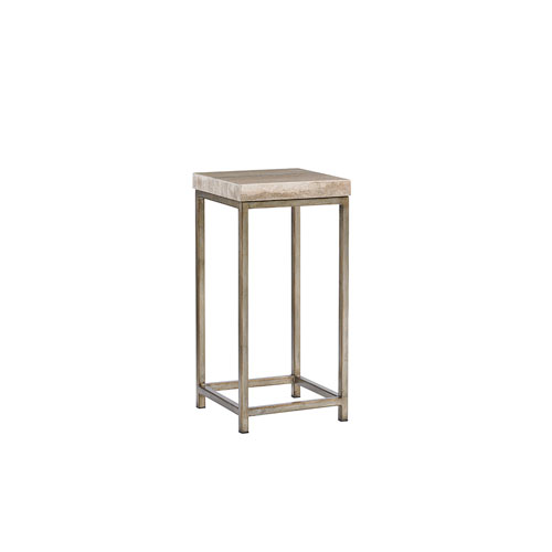 Laurel Canyon Brown Ashcroft Accent Table