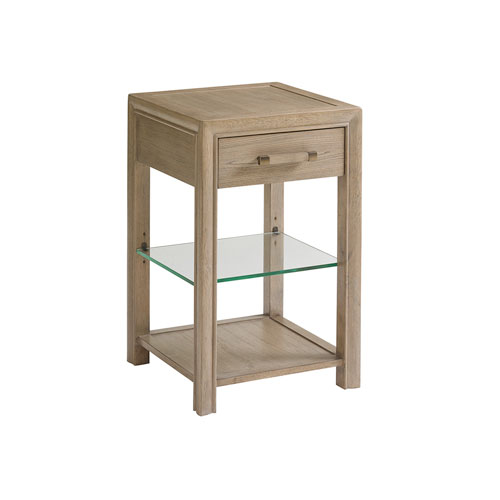 Shadow Play Taupe Legacy Night Table