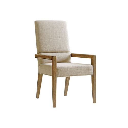Shadow Play Beige Metro Arm Chair