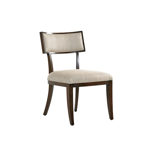 Macarthur Park Beige and Walnut Whittier Side Chair