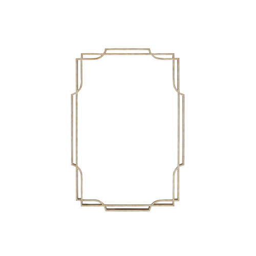 Carlyle Gold Harwood Metal Mirror