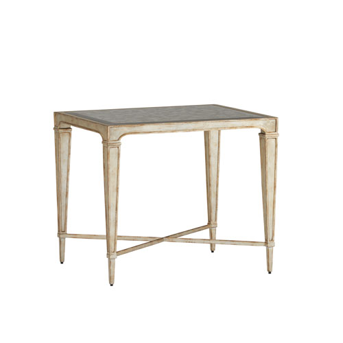 Carlyle Gold Pierre End Table