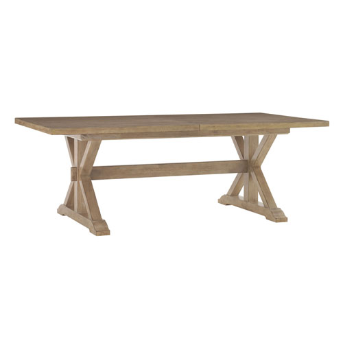 Monterey Sands Brown Walnut Creek Dining Table
