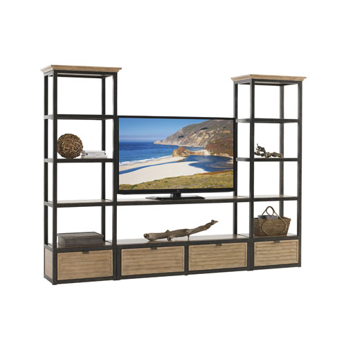 Monterey Sands Black and Brown Camino Real Shelves