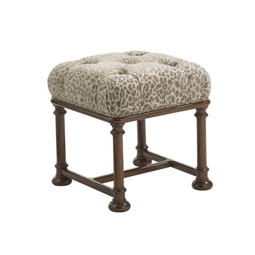 Upholstery Brown Eaton Ottoman