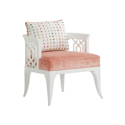 Avondale Orange and White Gatewick Chair
