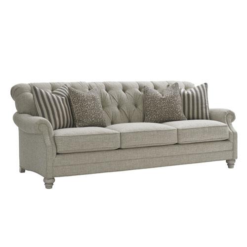 Oyster Bay Gray Greenport Sofa