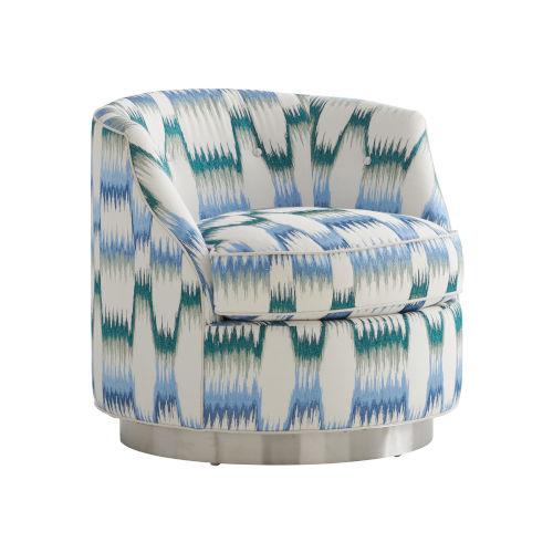 Avondale Multicolor Piper Swivel Chair