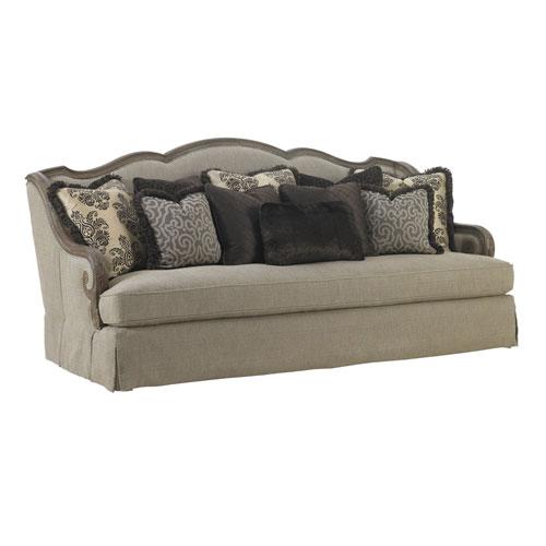 Upholstery Beige Aragon Sofa