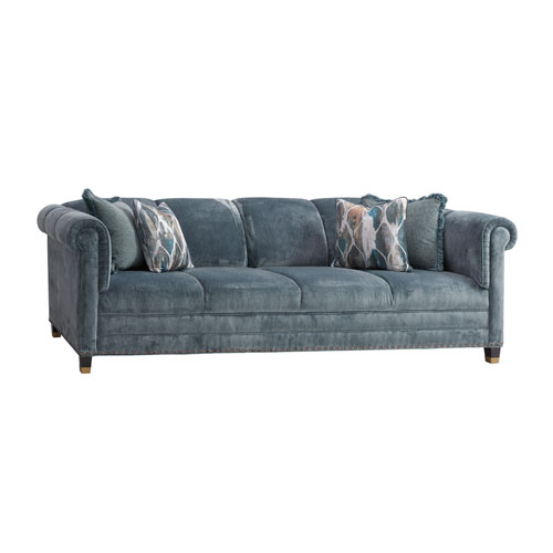 Carlyle Blue Springfield Sofa
