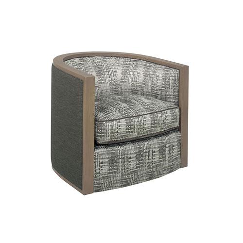 Lexington Carrera Gray Palermo Swivel Chair