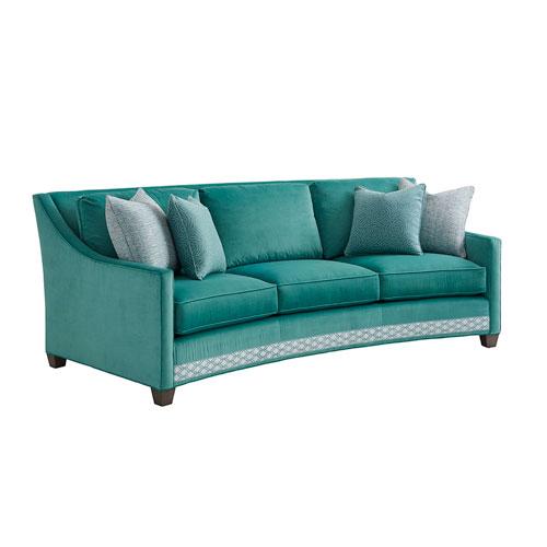 Ariana Green Valenza Curved Sofa