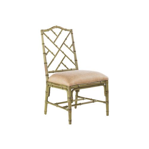 Island Estate Green Ceylon Side Chair