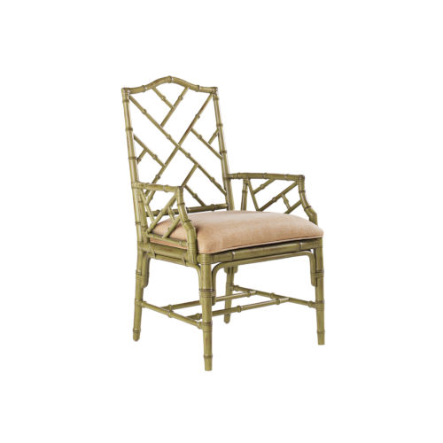 Island Estate Green Ceylon Arm Chair