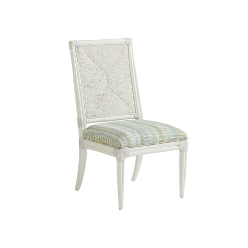 Ocean Breeze White Regatta Side Chair