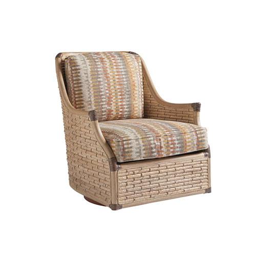 Los Altos Multicolor Barlow Swivel Chair