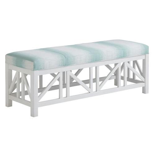 Ocean Breeze White Birkdale Bench