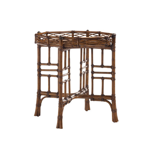 Island Estate Brown Key Largo End Table