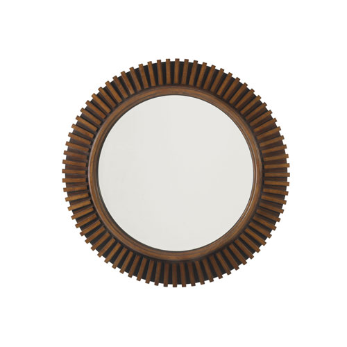 Ocean Club Brown Reflections Mirror