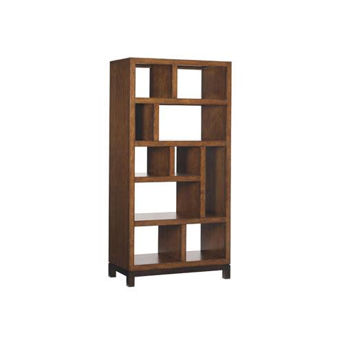 Ocean Club Brown Tradewinds Bookcase Etagere