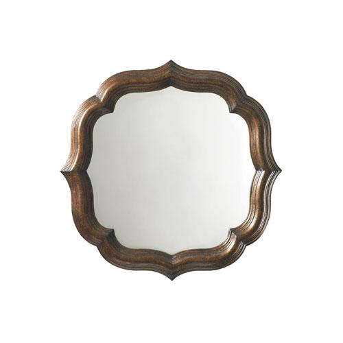 Royal Kahala Gold Lotus Blossom Mirror