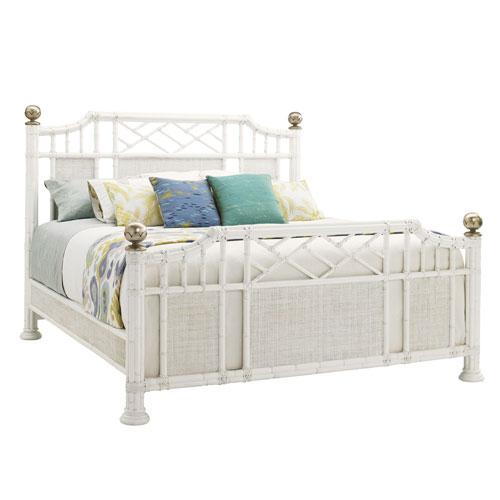 Ivory Key White Pritchards Bay King Panel Bed
