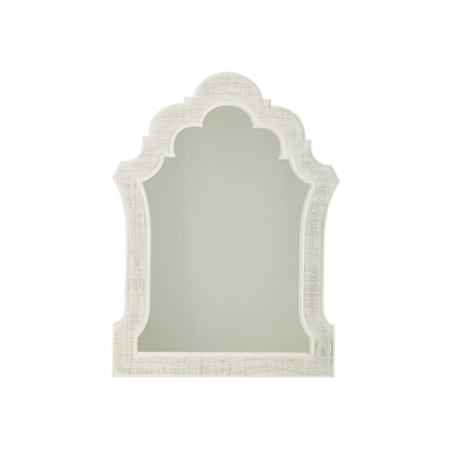 Ivory Key White Sandys Mirror