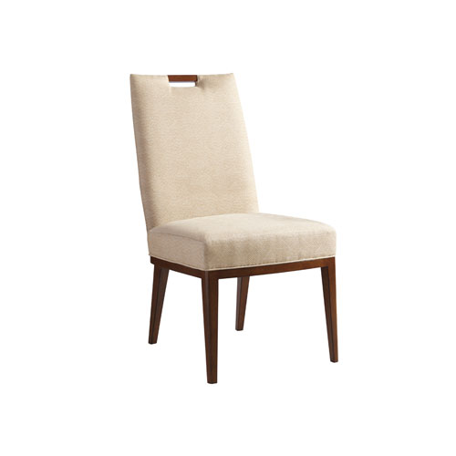 Island Fusion Brown and Beige Coles Bay Side Chair