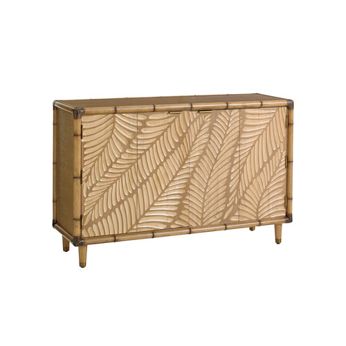 Twin Palms Brown St. Croix Hall Chest