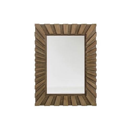 Cypress Point Brown Ardley Sunburst Mirror
