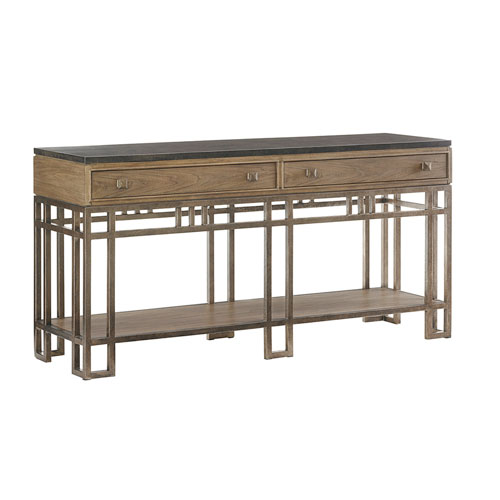 Cypress Point Brown Twin Lakes Sideboard