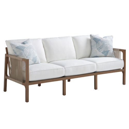 St Tropez Natural Teak Sofa