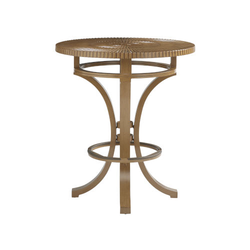 St Tropez Natural Teak Bistro Table