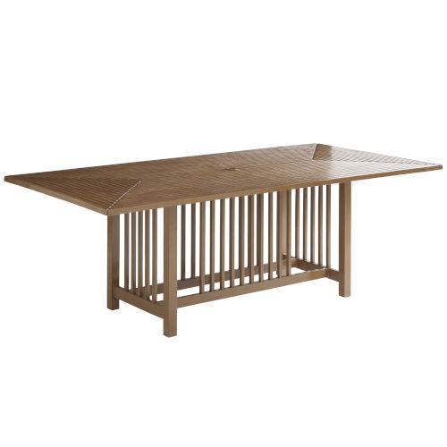 St Tropez Natural Teak Rectangular Dining Table