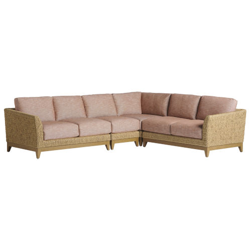 Los Altos Valley View Brown Sectional