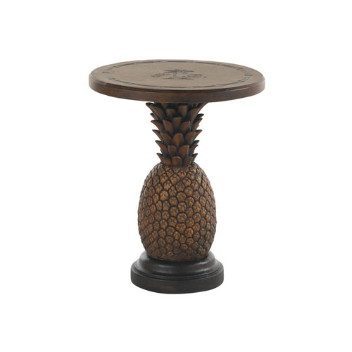 Alfresco Living Pineapple End Table