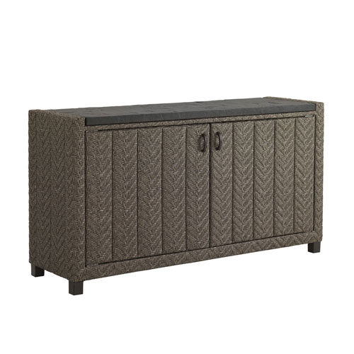 Blue Olive Brown Buffet Console Table