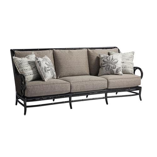 Marimba Black and Gray Sofa