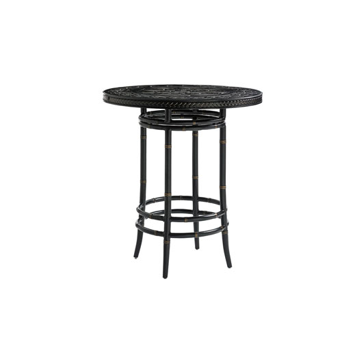 Marimba Black Bistro Table
