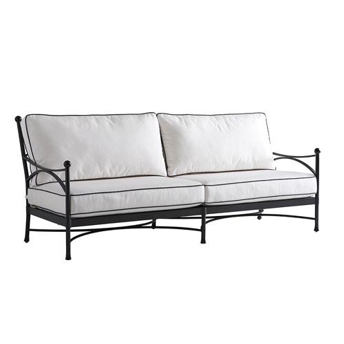 Pavlova Graphite and White Sofa