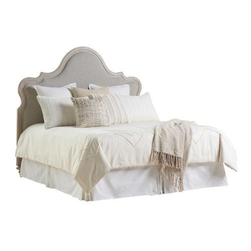 Malibu Warm Taupe Zuma Upholstered King Headboard