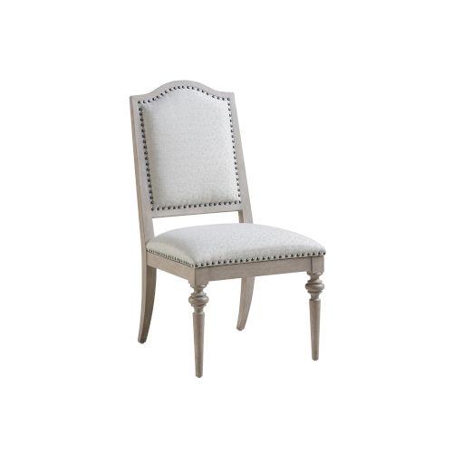 Malibu Warm Taupe Aidan Upholstered Side Chair